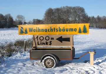 Weihnachtsbaumverkauf Oldenburg und Umgebung